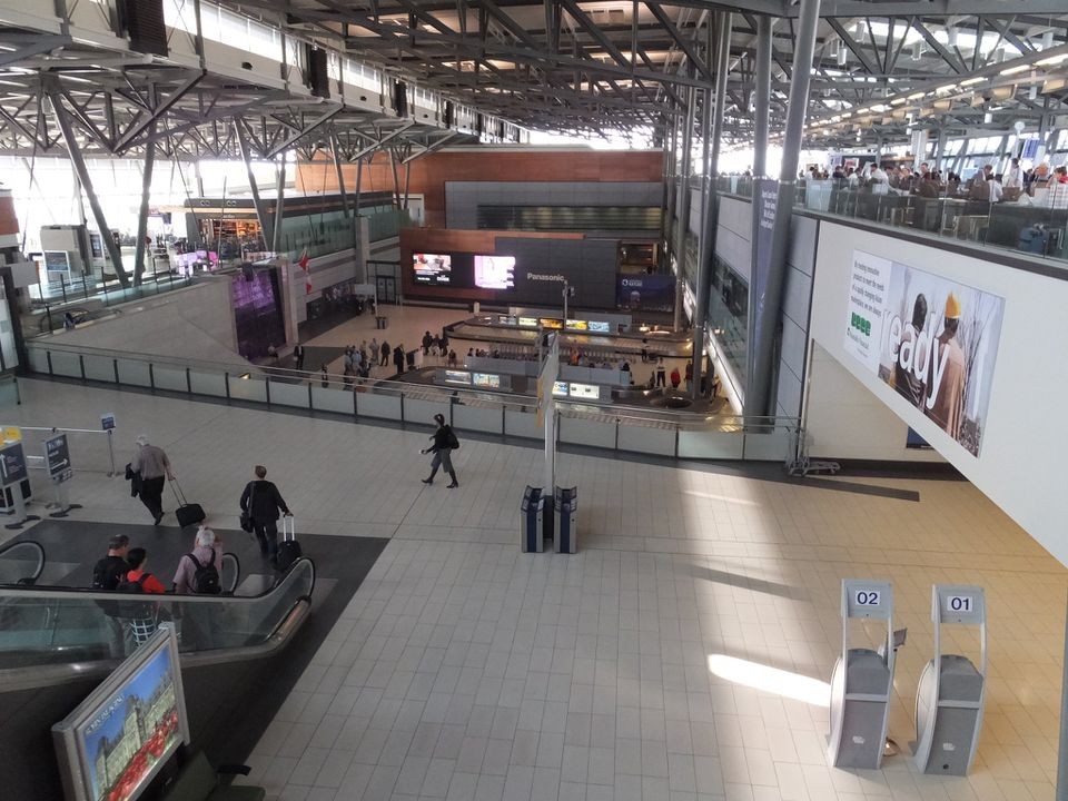 Interior of the Ottawa Airport