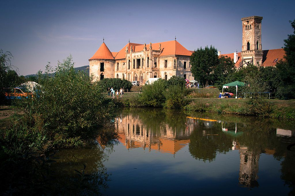 Bánffy Castle, Bonțida, Romania
