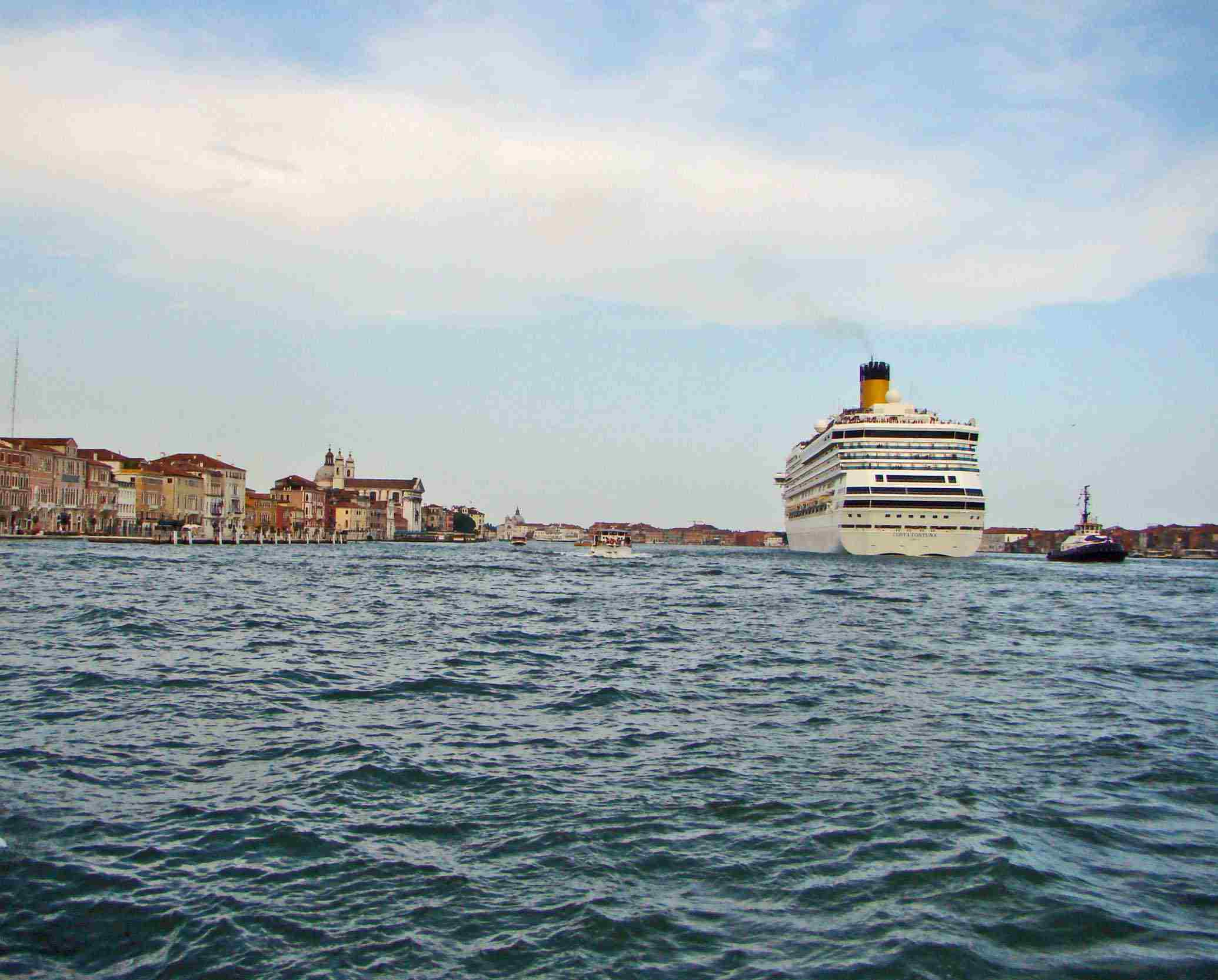 Venice, Italy is a wonderful port for beginning or ending a cruise.