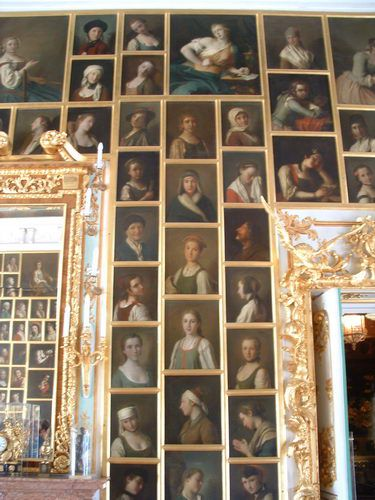 Peterhof Portrait Hall - One of the Many Fascinating Rooms at Grand Palace of Peterhof