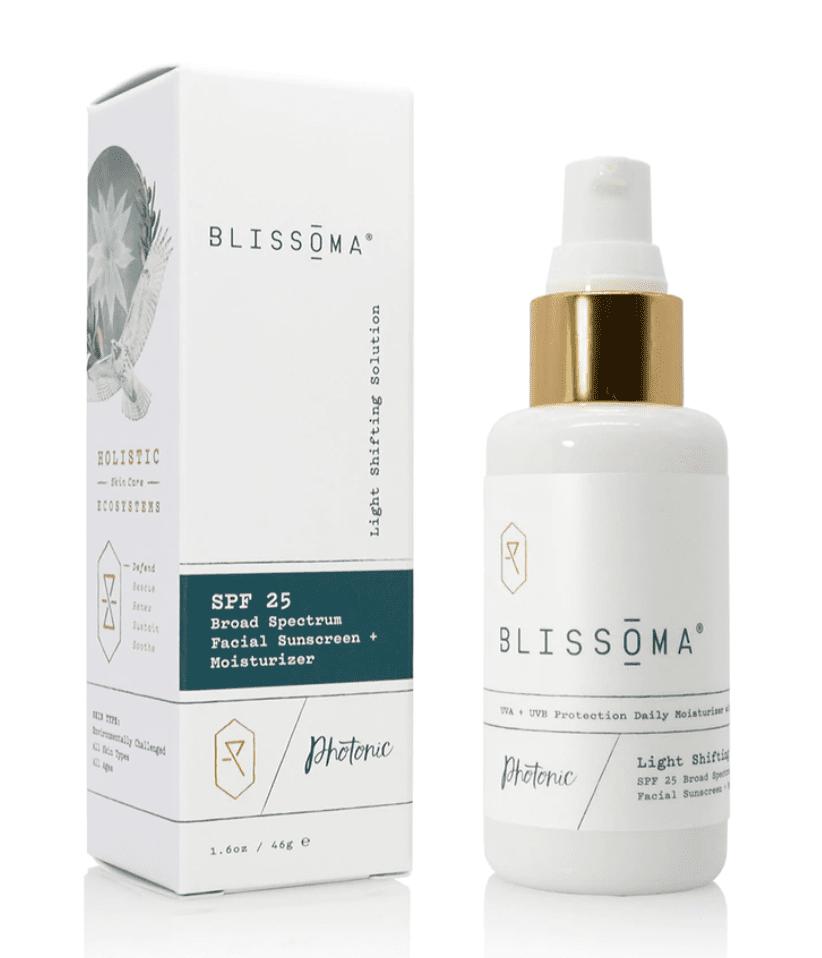 Blissoma Light Shifting Solution SPF 25 Broad Spectrum Facial Sunscreen + Moisturizer