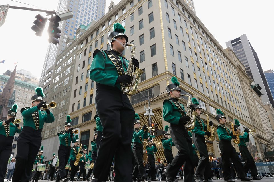 settings Embed Share Comp Save to Board 2018 New York City St. Patrick's Day Parade