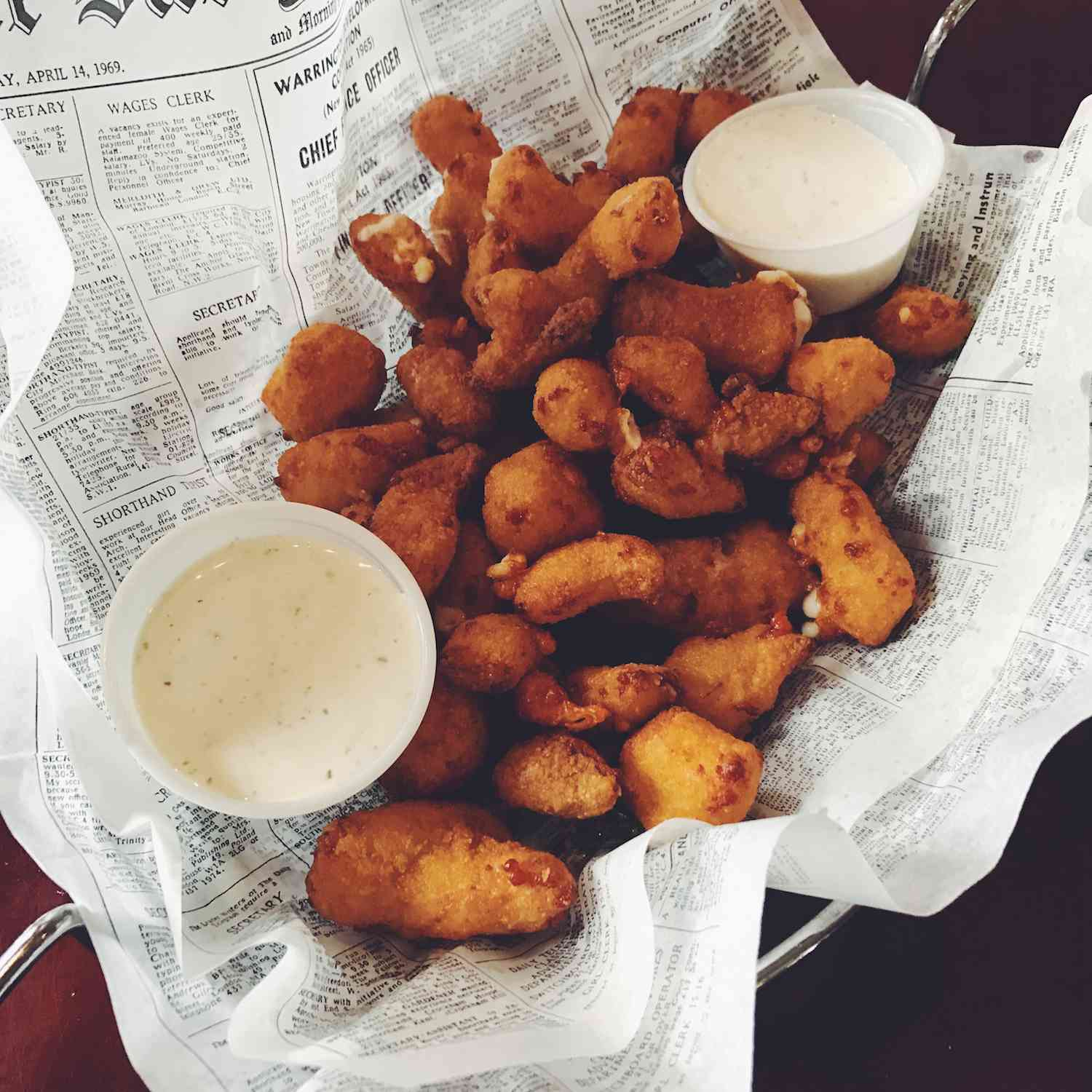 Cheese Curds in Wisconsin