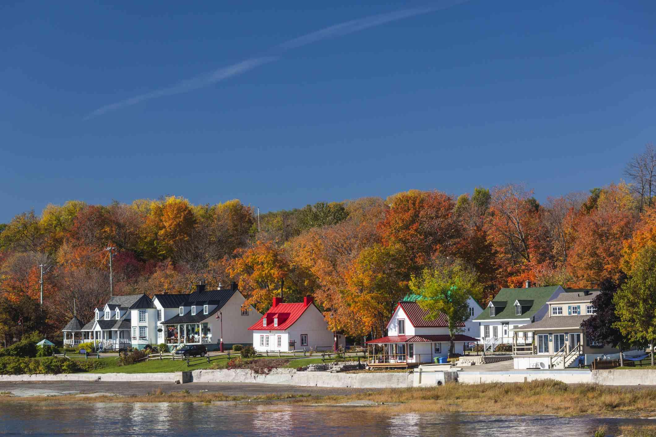 Quebec, Quebec, Ile d'Orleans, Saint-Jean, village