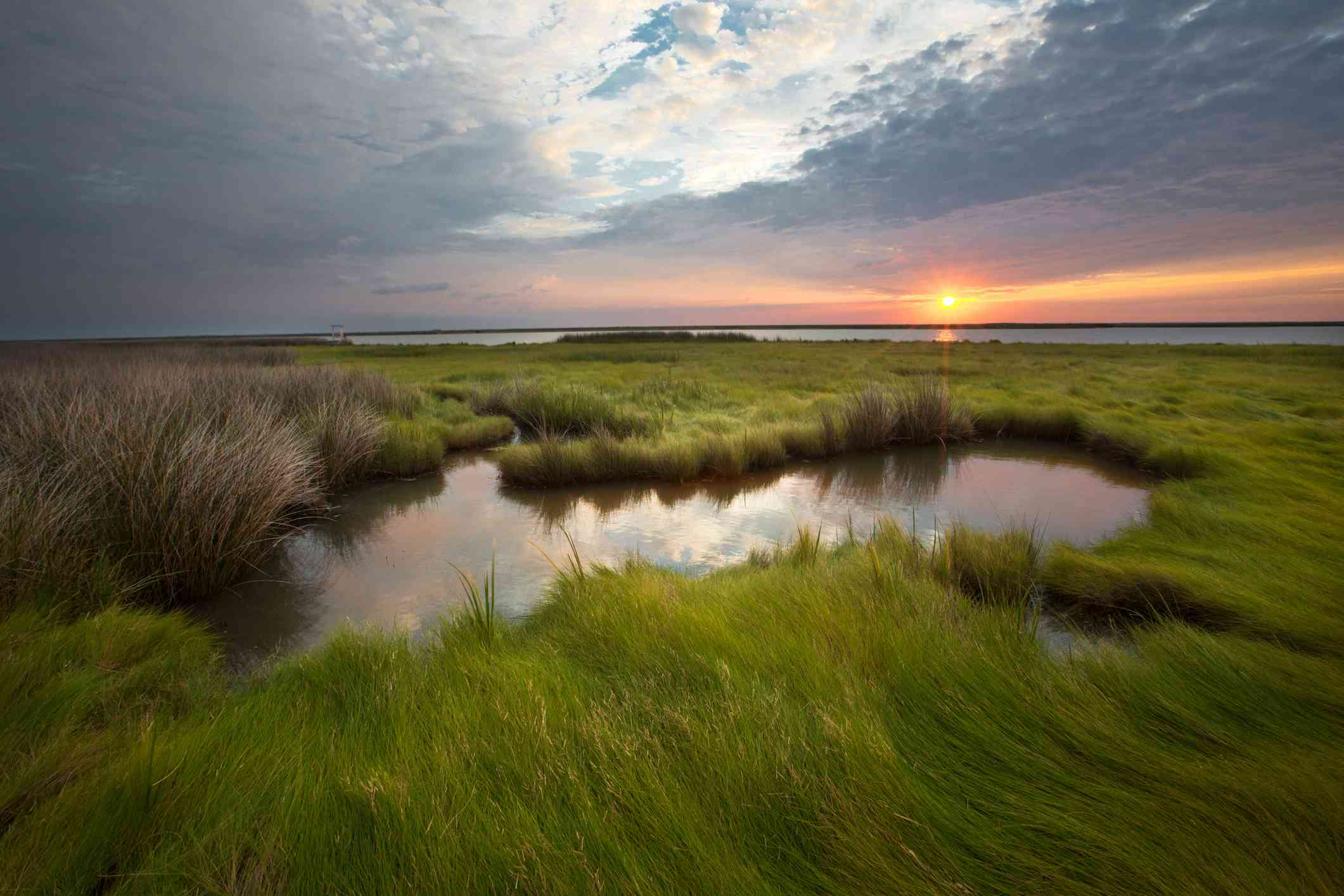 Smith Island on the eastern shore of Maryland