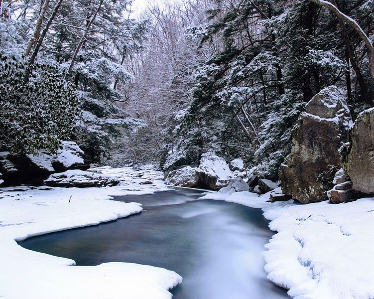 Ohiopyle State Park in the Winter