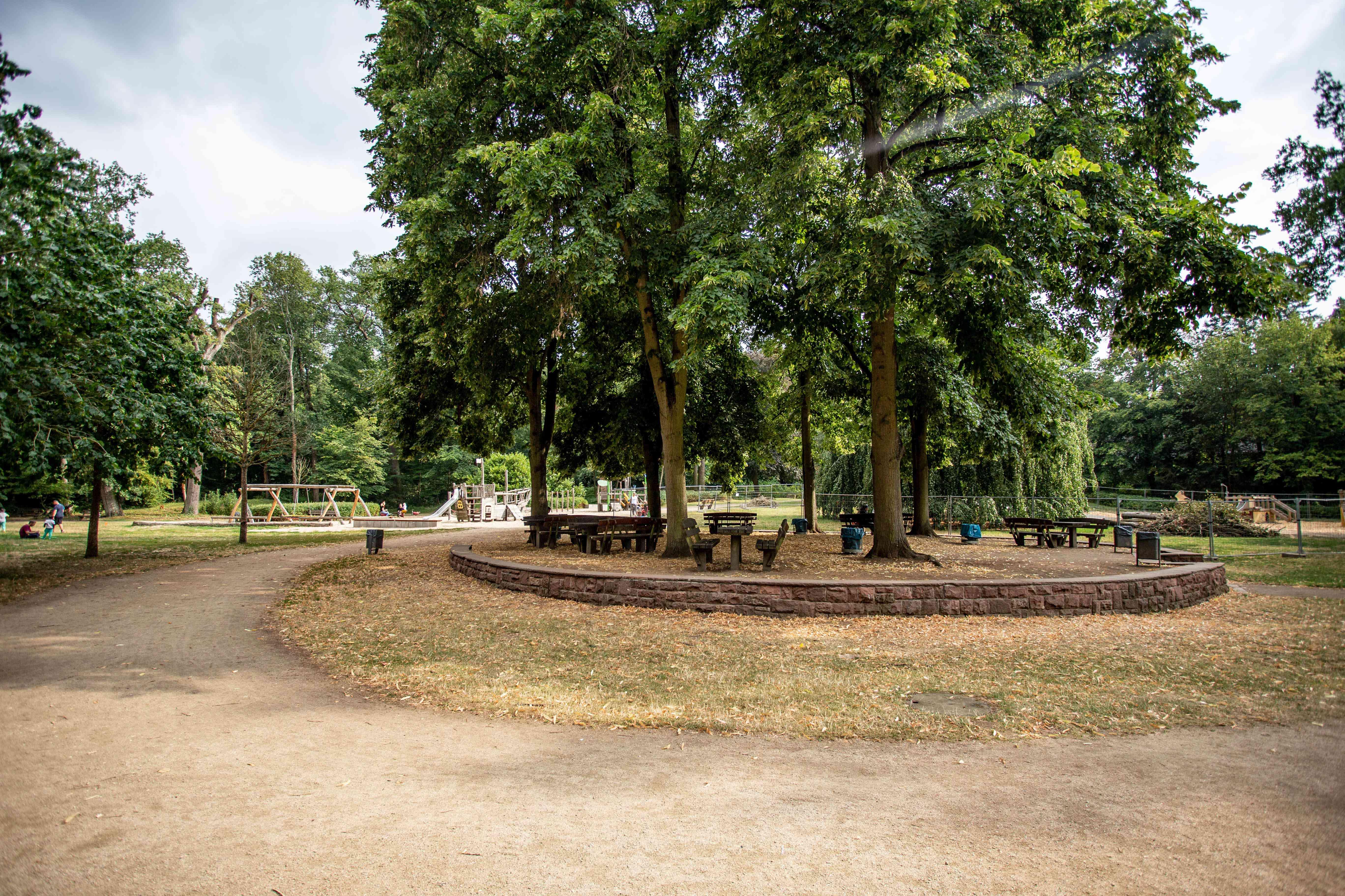 Playground in Waldspielpark