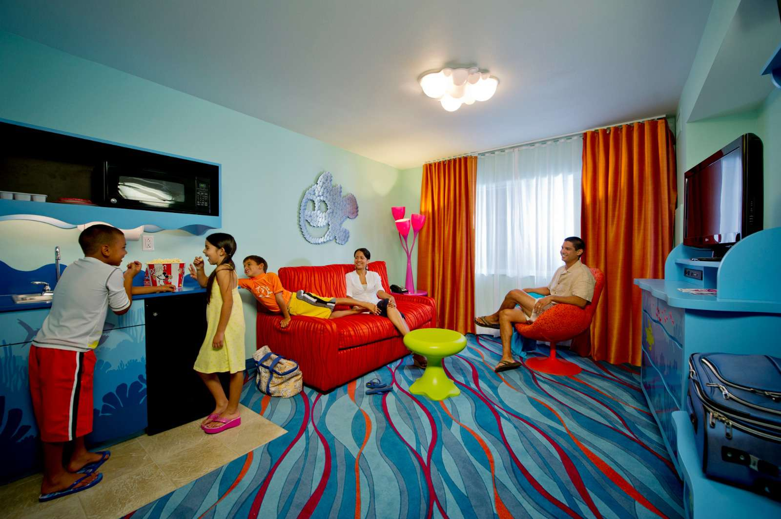 Family suite at Disney's Art of Animation Resort