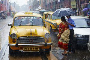 Monsoon in Kolkata, India