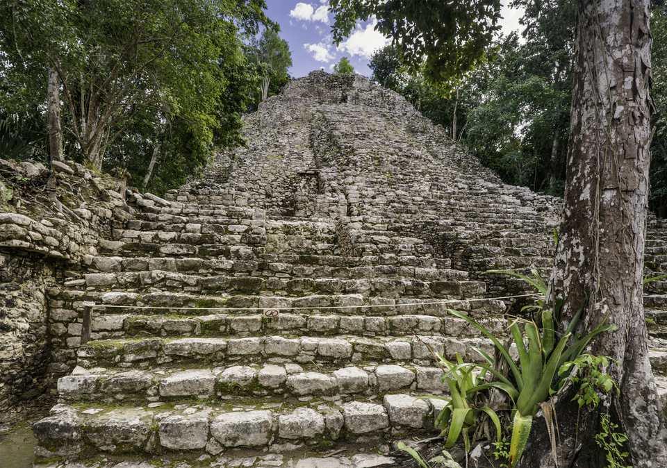 Coba ruins, Yucatan Peninsula, Quintana Roo Mexico