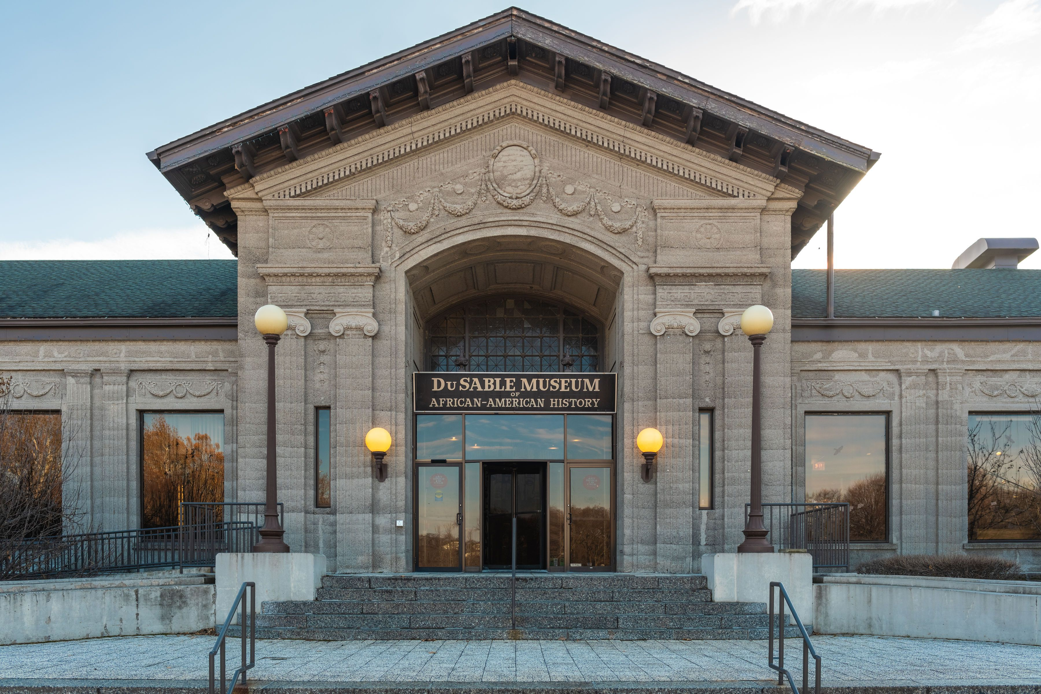 Entryway to the DuSable Museum of African-American History