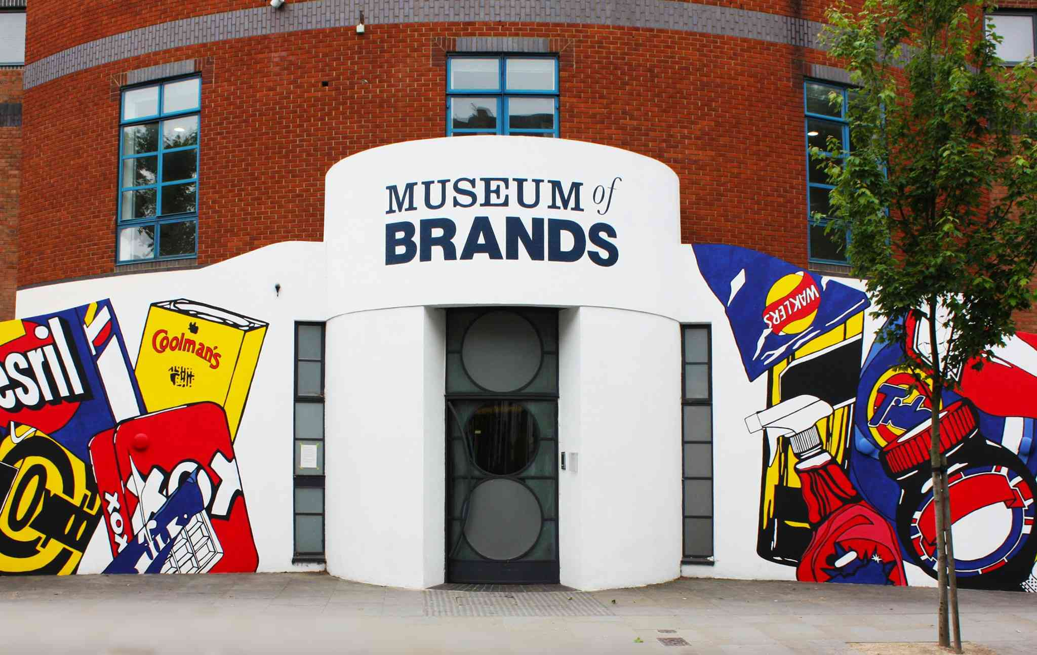 Exterior of Museum of Brands in Notting Hill