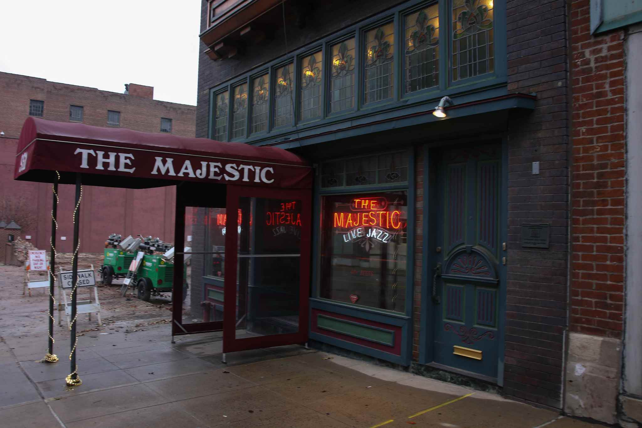 The Majestic Restaurant and Jazz Bar in Kansas City