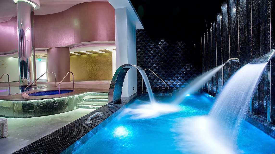 Hydrotherapy Pool at Hotel Mousai's Spa Imagine