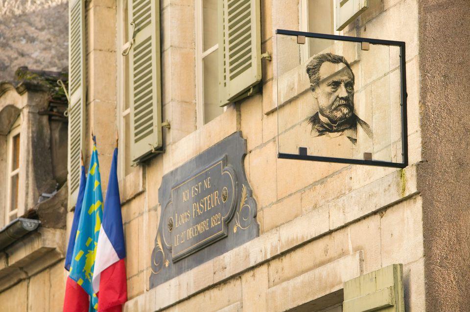 Lugar de nacimiento de Louis Pasteur en Dole