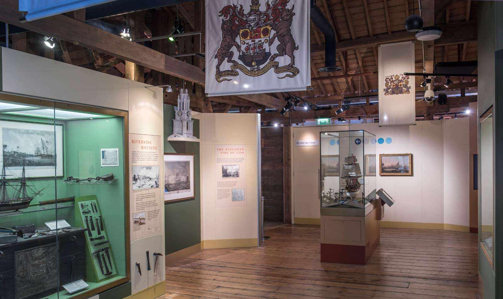 Museum of London Docklands Interior