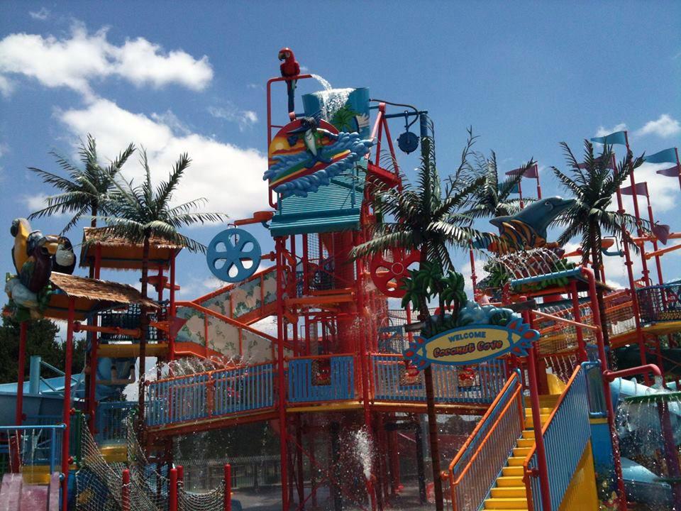 Bahama Beach water park in Dallas