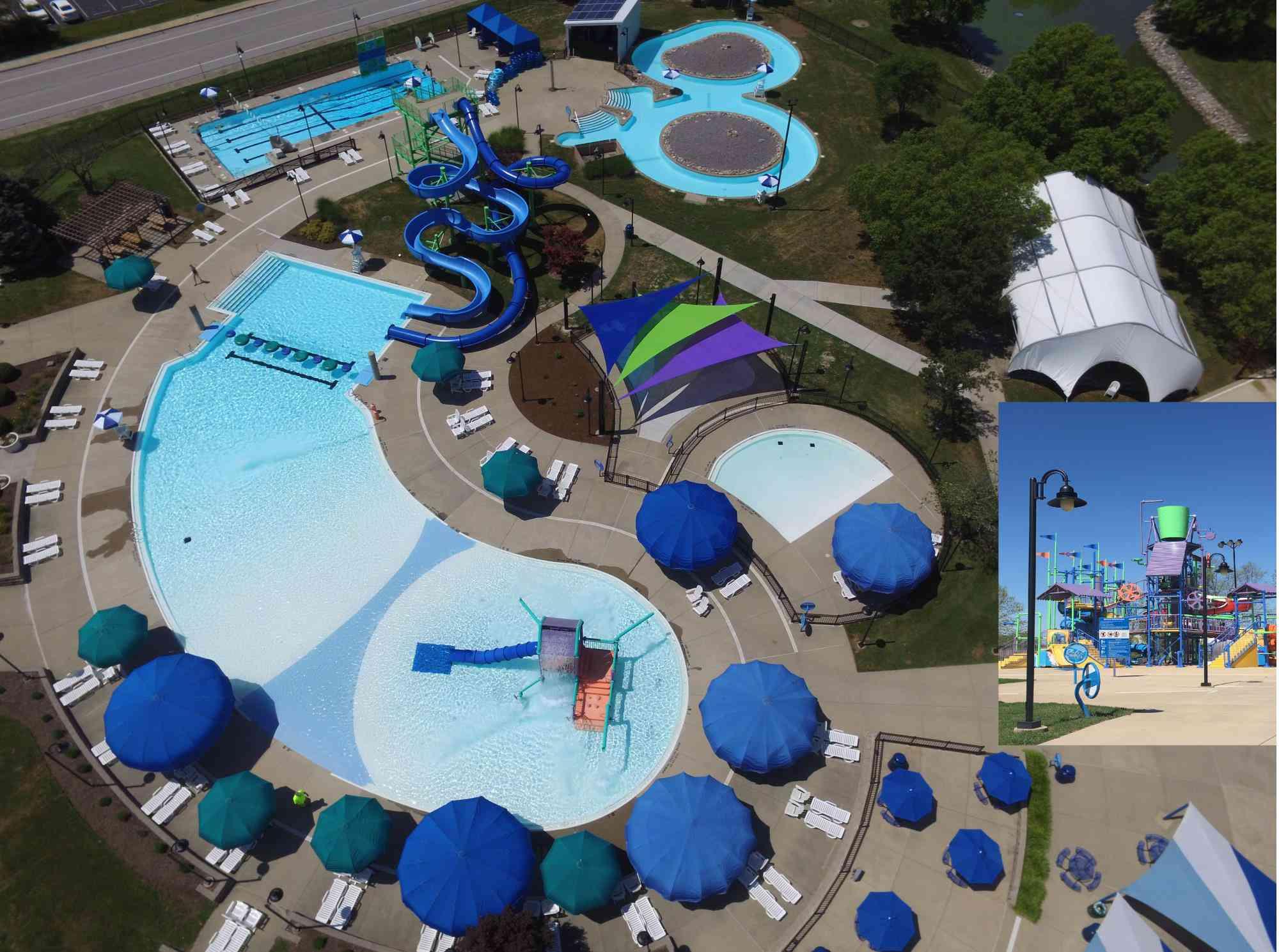 Collinsville Aqua Park in Illinois