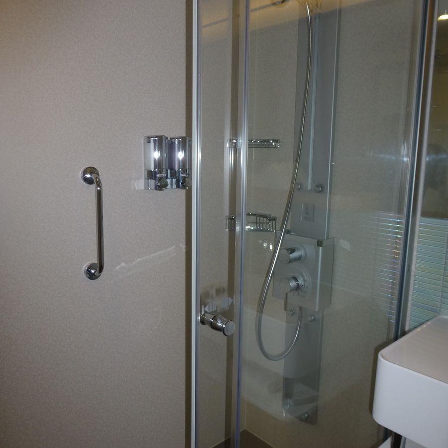 Norwegian Breakaway Spa Mini-Suite Shower