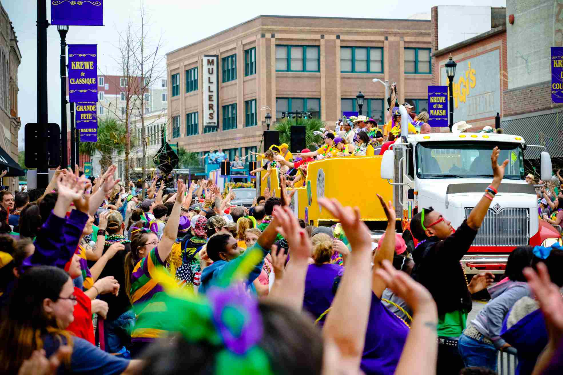 Lake Charles Mardi Gras parade