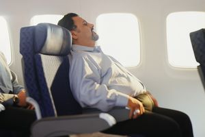 Some airlines require larger passengers to buy a second seat.