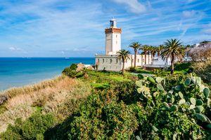 Cap Spartel Lighthouse near Tangier, Morocco.