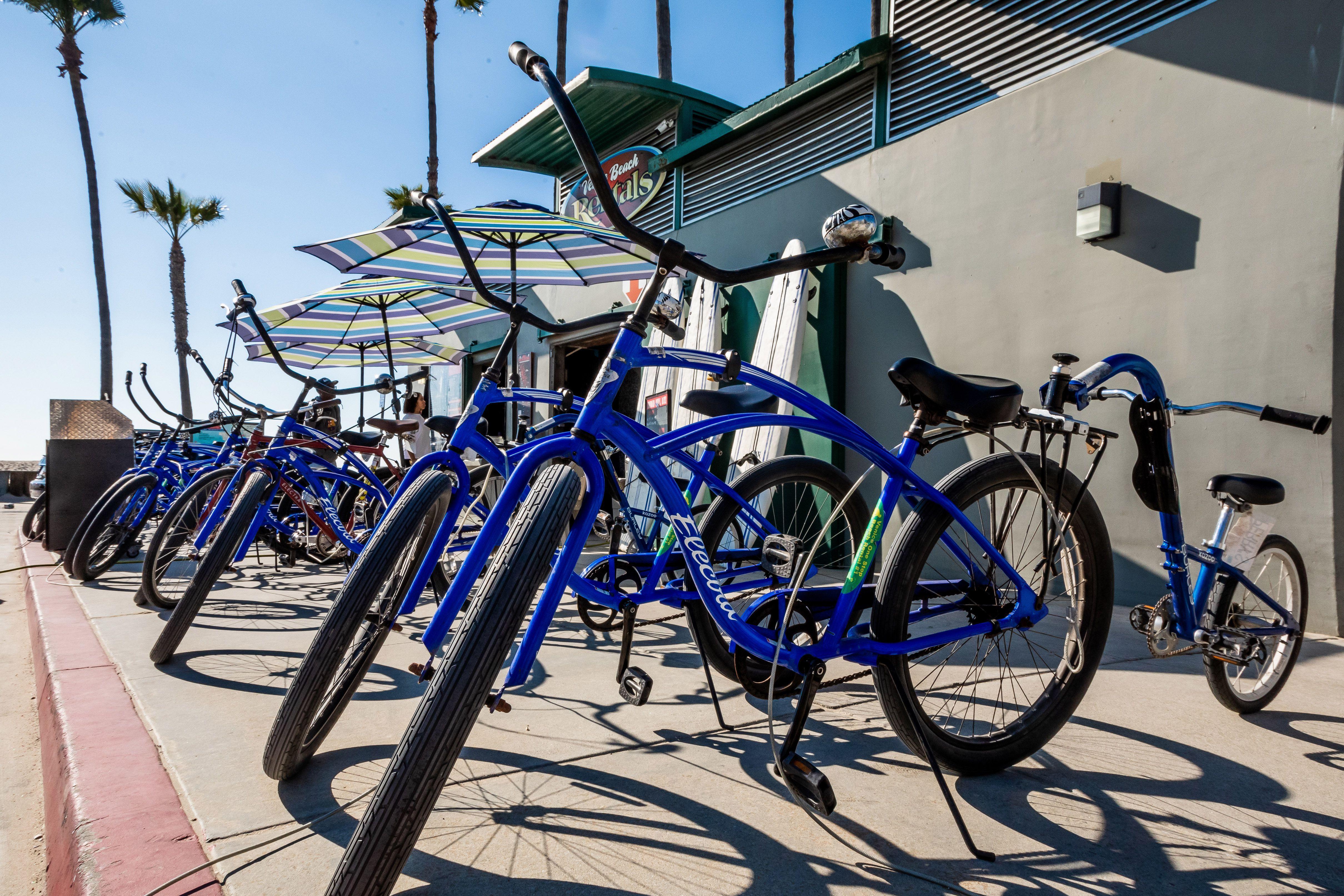 bicicletas en Venecia