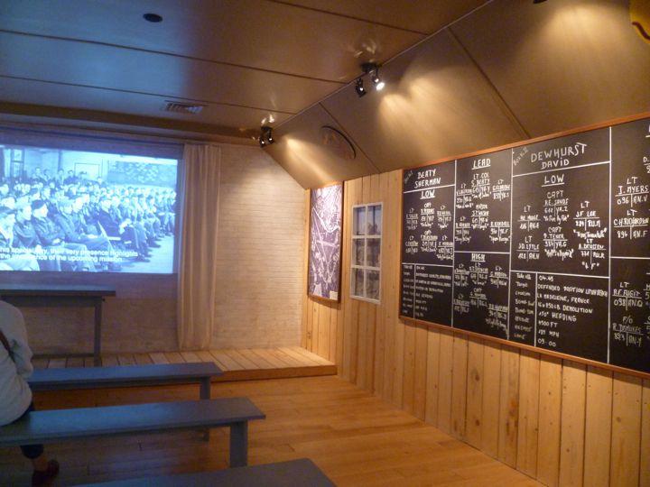 Briefing Room at the Utah Beach Museum, Normandy