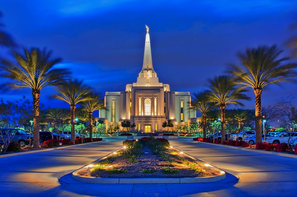 Gilbert, Arizona Temple of The Church of Jesus Christ of Latter-Day Saints, LDS, Mormon