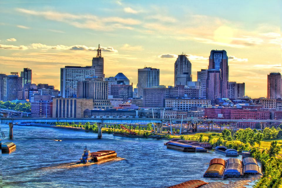 St. Paul city view