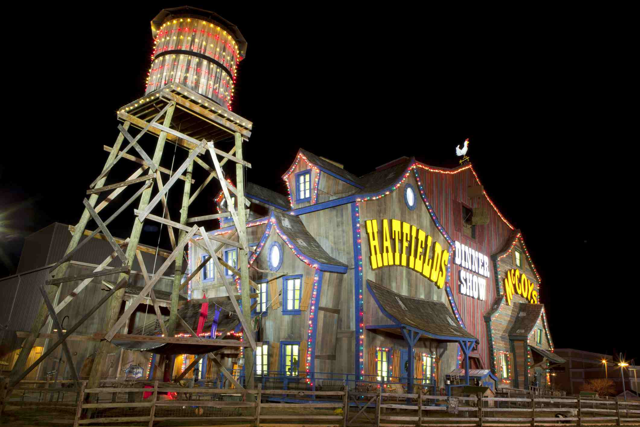 Hatfield & McCoy Dinner Show Theater in Pigeon Forge, Tennessee