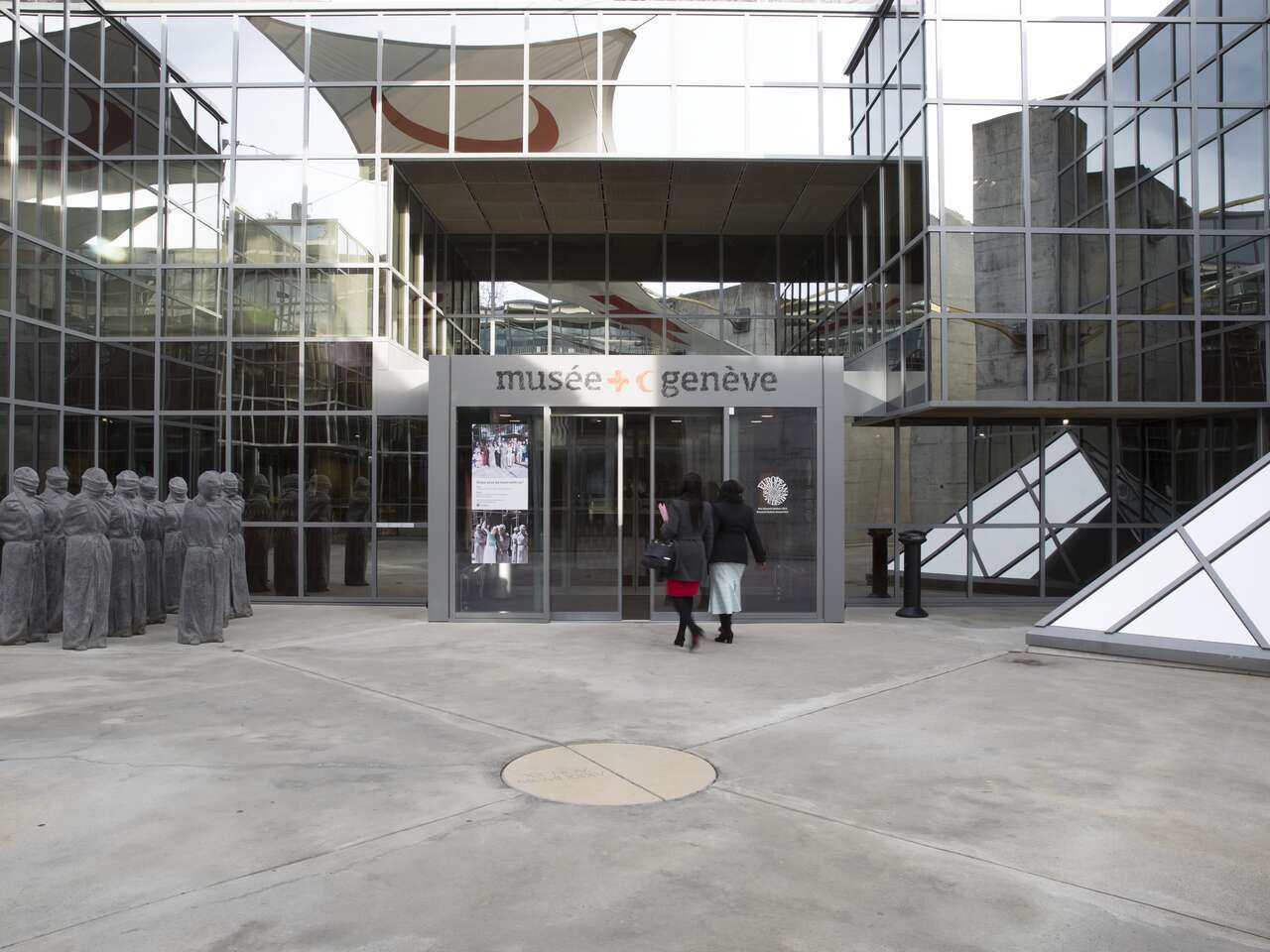 Entrance to the Museum of the International Red Cross
