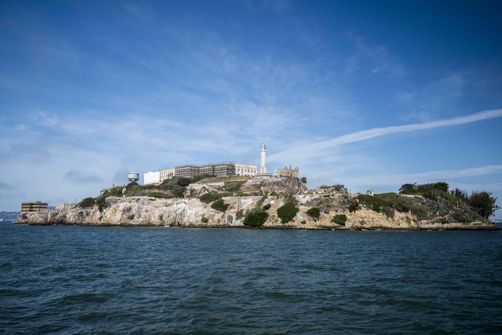 Alcatraz Island in San Francisco, California