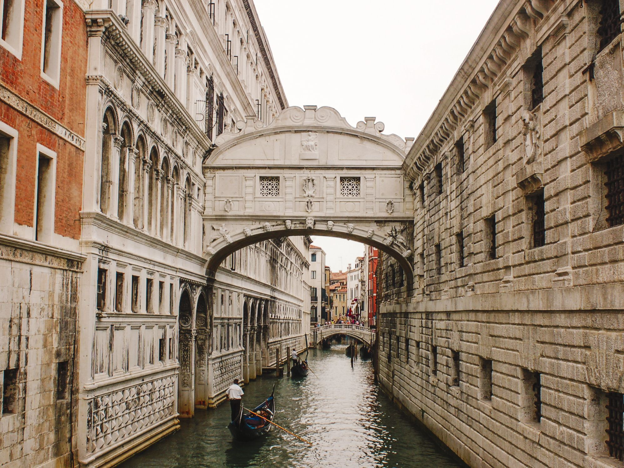Visit the Bridge of Sighs in Venice, Italy