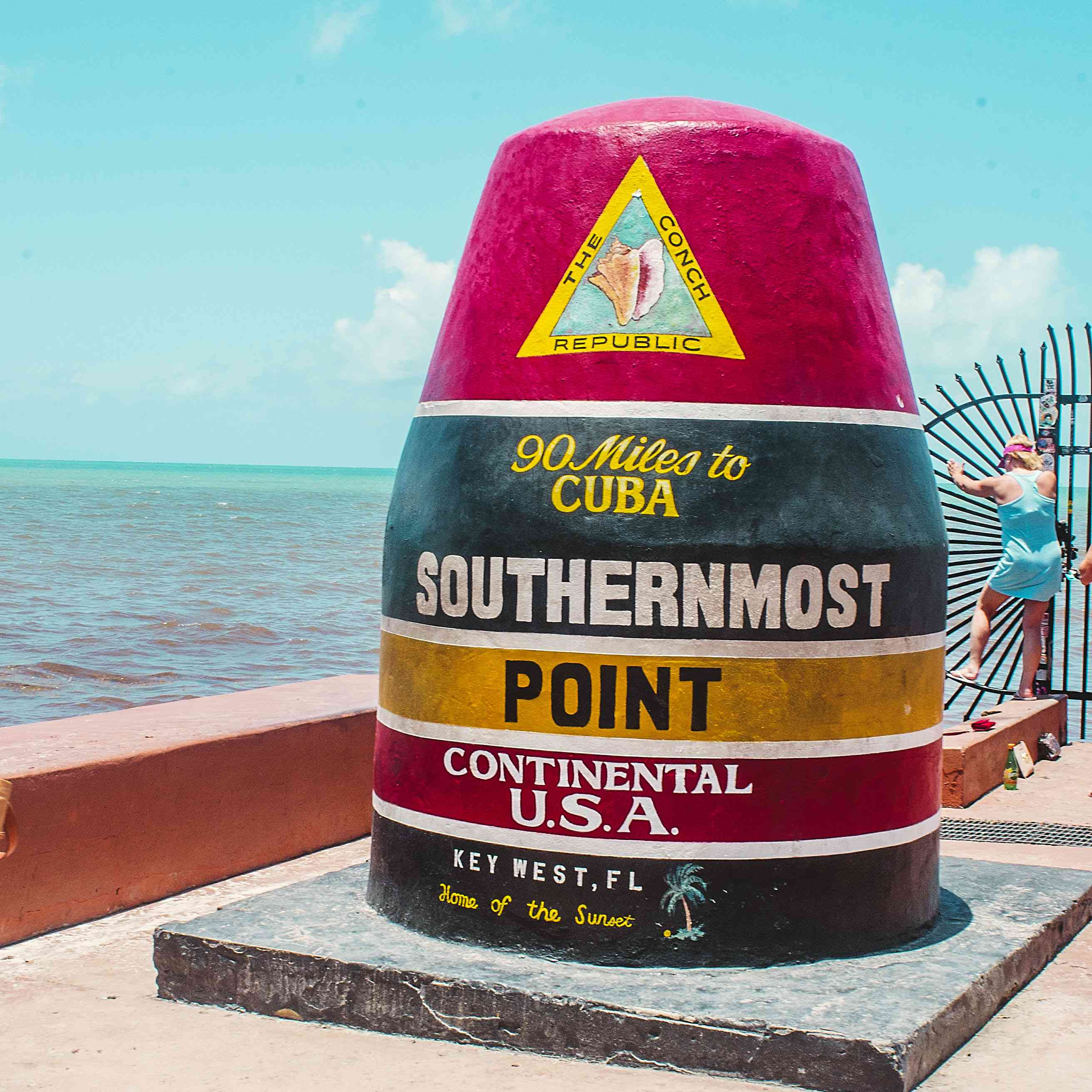 Southern Most Point Buoy