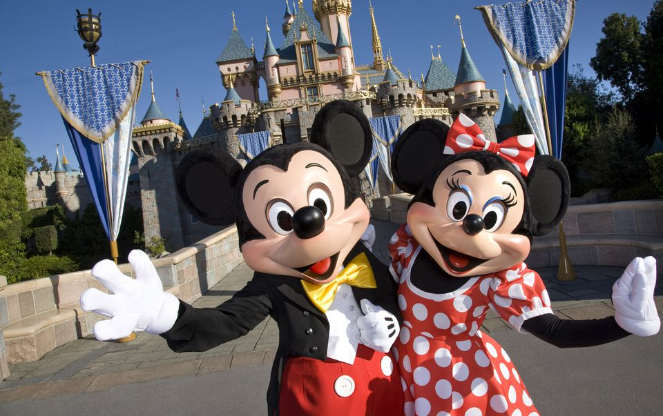 Disneyland - Mickey and Minnie