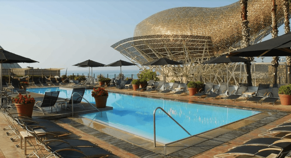 Best Oceanfront Hotel Arts Barcelona