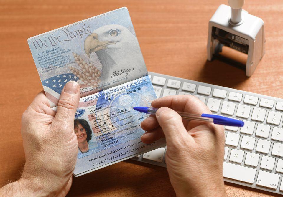 Passport Control with US Passport