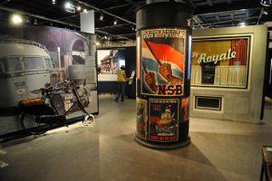 Dutch Resistance Museum interior