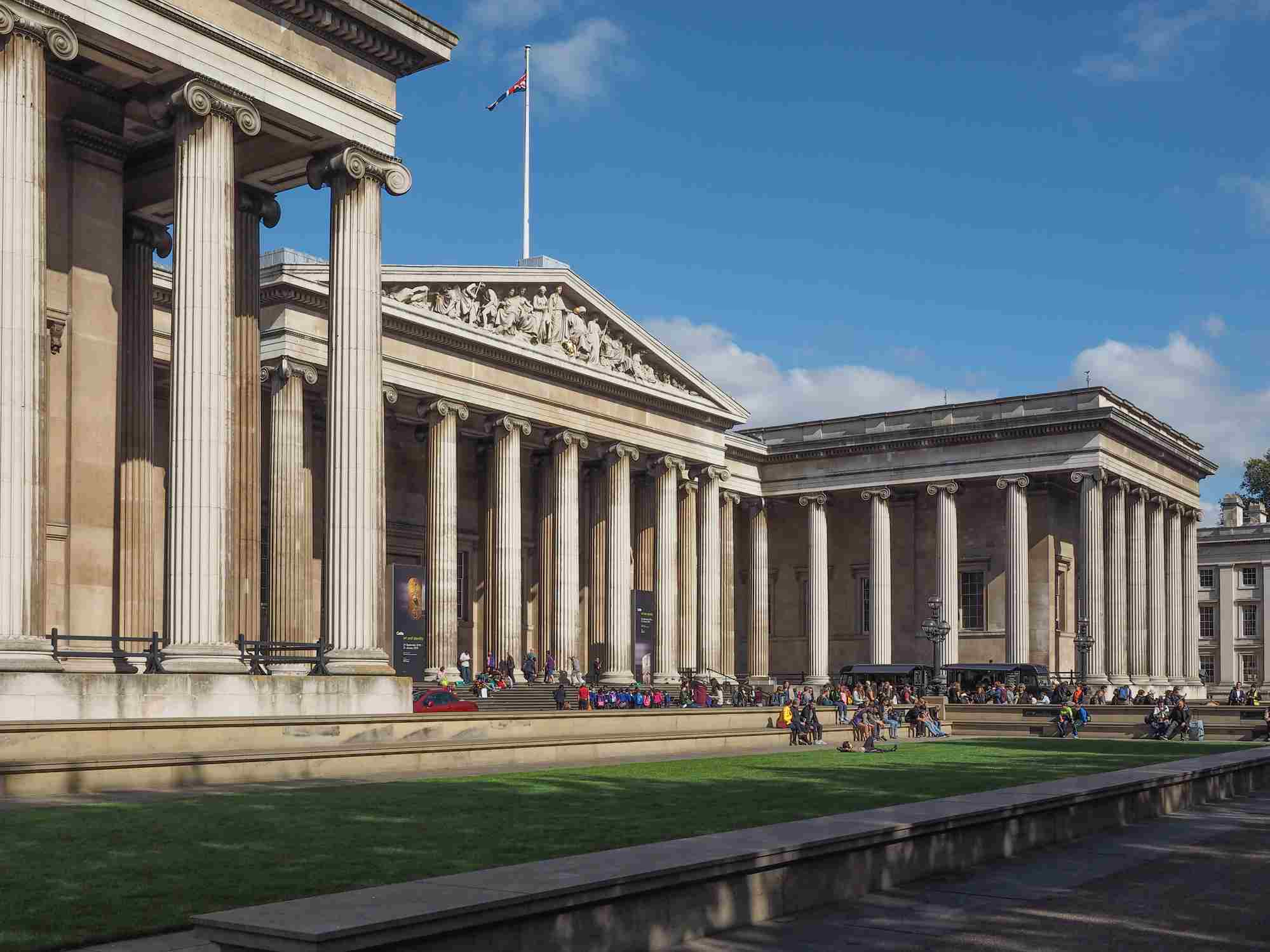 The British Museum is the largest museum of antiquities in the world and also the most visited by tourists