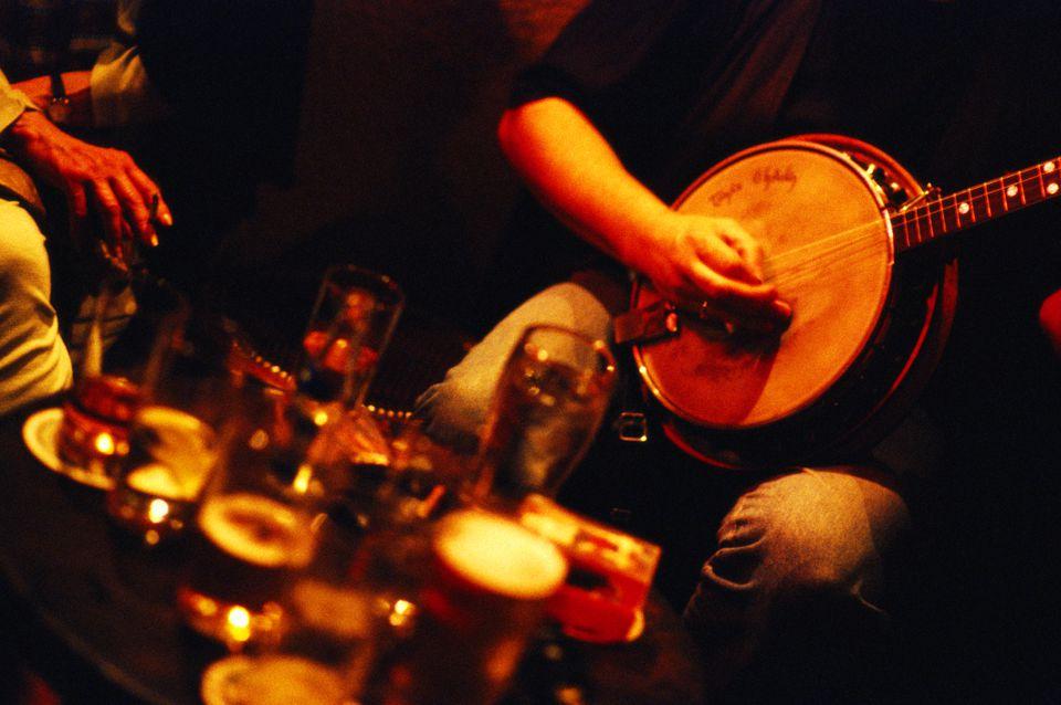 O'Donoghue's Folk Pub in Dublin, Ireland