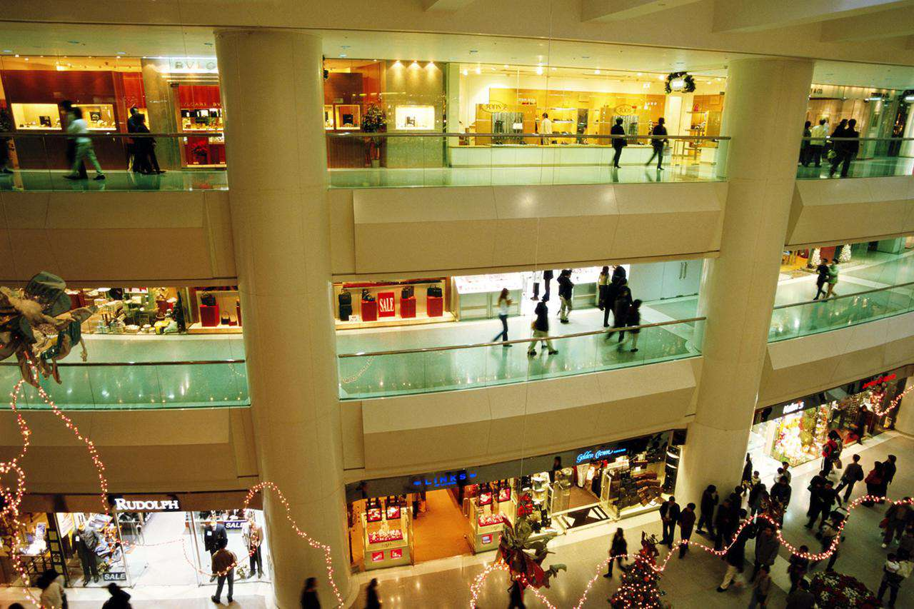 Centro comercial Hong Kong, Distrito Central, Pacific Place