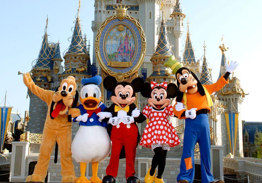 Mickey & Friends at Disney World
