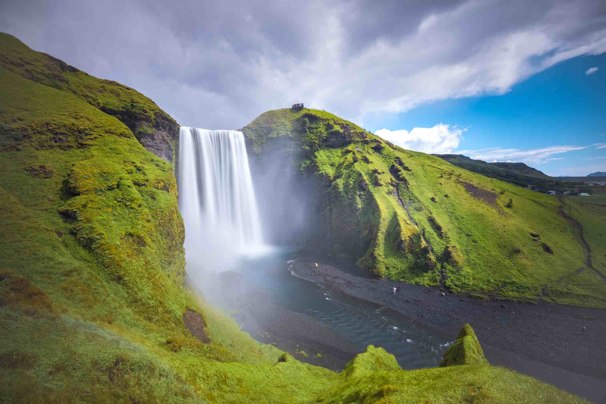 Skogafoss in Southern Iceland