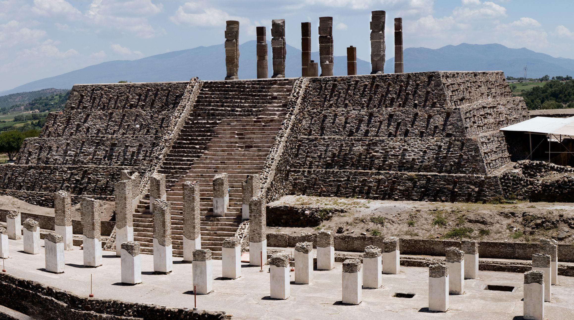 The Atlantes of Tula Archaeological Site