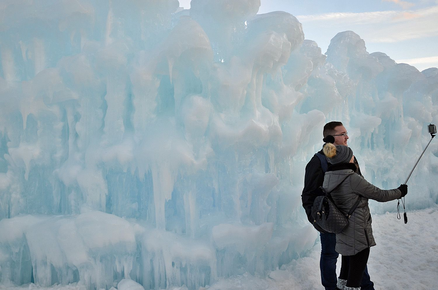 Ice Castles Photography