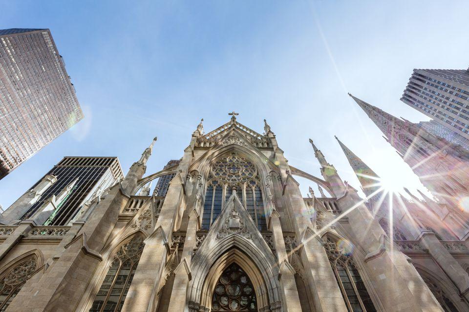 St. Patrick cathedral, Manhattan, New York, USA
