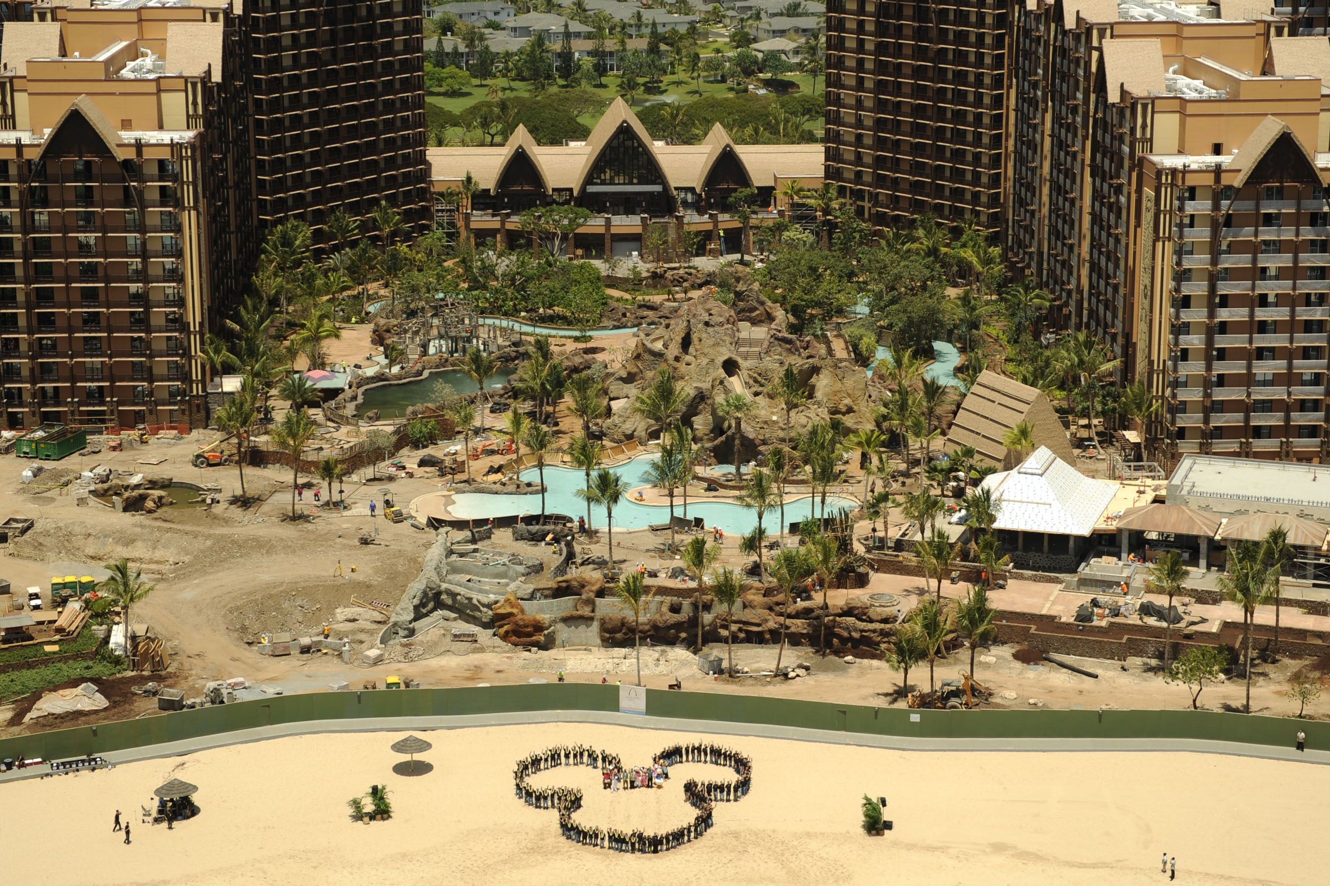 Aulani Resort Spa On Oahu Hawaii