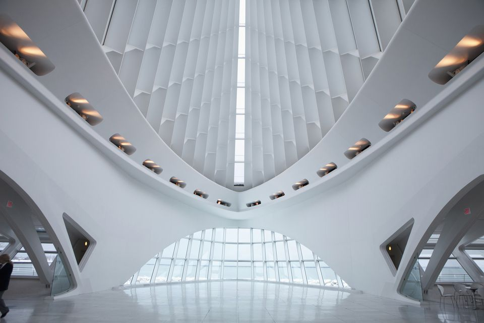 Milwaukee Art Museum,Milwaukee,Wisconsin,Usa