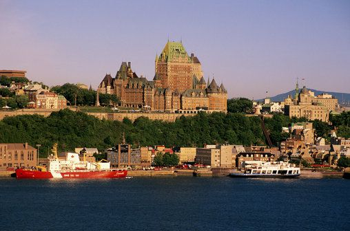 Quebec City from the water